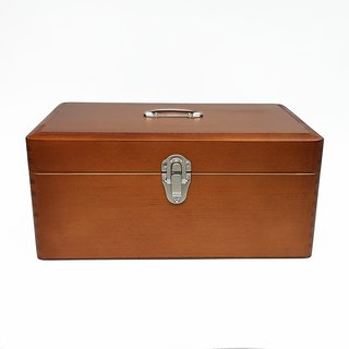 Kurashiki intentional plan room portable wooden box. Props 【Zhong (17098-02)】 emergency boxes. Storage Box
