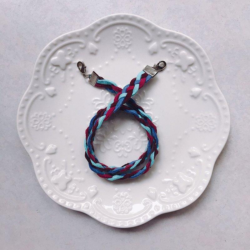 手工編織口罩繩 / 綜合莓果