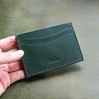 [VULCAN Card Holder] Italy INCAS Plant Plough Leather