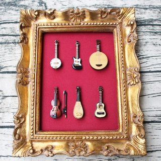Handmade Musical Instrument Hang Decoration【Limited Edition】