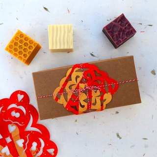 Auspicious small gift box handmade soap