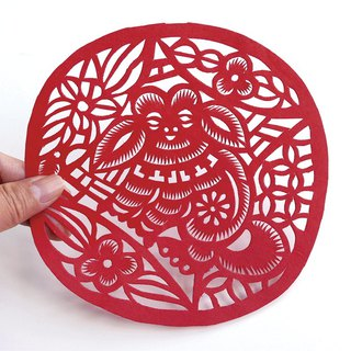 Choi dog paper cutting go27