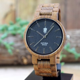 EINBAND Dank Teak 40mm Wooden Watch