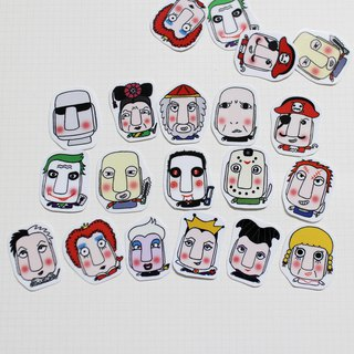 Mini Sticker Pack _ Bad Guy (20 in)