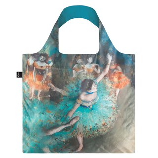 LOQI Shopping Bag - Museum Series (Green Dancer ESDD)