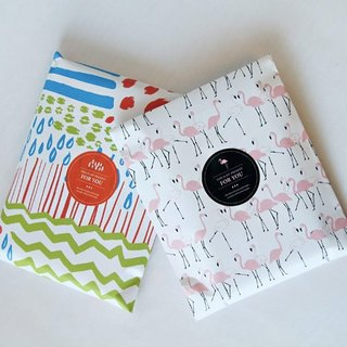 & Cabinet gift bag / envelope - Weather (left)