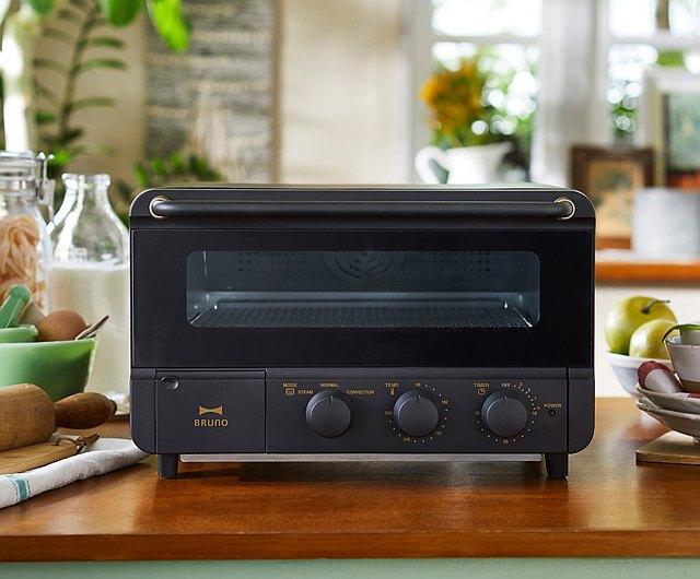 Epidemic Prevention Helper Japan Bruno Steam Cyclone Toaster Oven Frosted Black Shop Brunotaiwan Kitchen Appliances Pinkoi