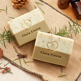 Forest Bath Tea Tree Cedar Soap - Emma Handmade Soap Expert