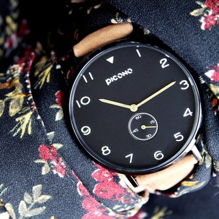 【PICONO】SPY S collection leather strap watch / YS-7201