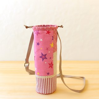 Star splicing beam bottle bag / cross-body bag