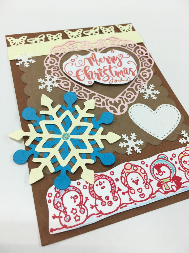 【เวิร์คช็อป】Handmade Christmas Card Experience Event
