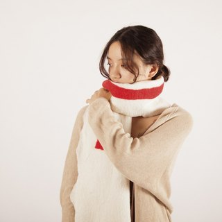 Ke people original handmade wool felt scarf female spring and autumn long section collar warm warm wool wool shawl arts Japanese