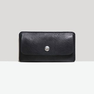 LUCE Hand-sewn and Vegetable-tanned Leather Case - Black