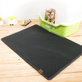 Blackhole Cat Litter Mat- Super Large Size Rectangular (Dark Gray)