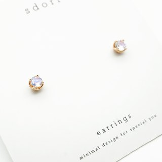 MOONSTONE EARRINGS ( SILVER/ 18K GOLD/ ROSEGOLD ) | MOONSTONE COLLECTIO