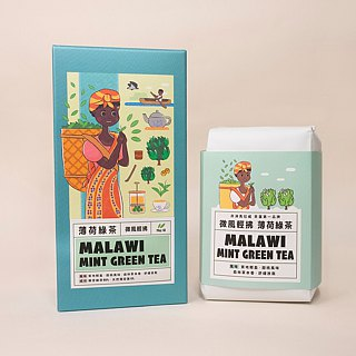 Qin cool breeze] | mint green tea original tea