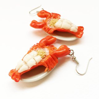 Lobster shrimp  earring