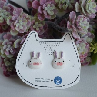 Japanese rabbit earrings