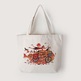 Tote bag | island painting