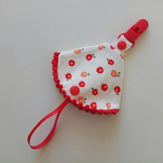 Flower small cotton ball combined with a nipple clip < nipple dust cover + nipple clip> dual function nipple cover