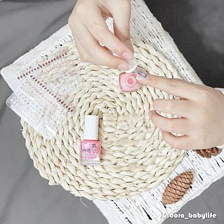 UK [Miss Nella] Children's Waterborne Nail Polish - Shiny Cheek Powder (MN05)