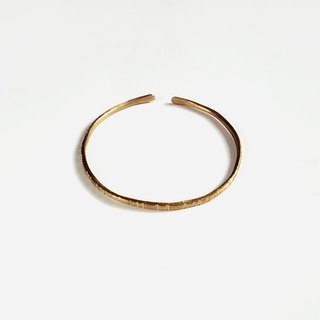 [Pure] hand-made bracelet bracelet brass inscription