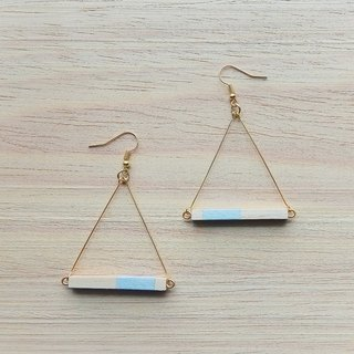 Triangle Earrings No.10