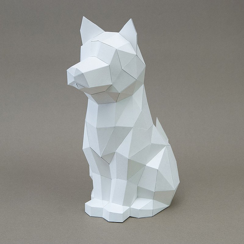 DIY Handmade 3D Paper Model Gift Decoration Cat/Dog Series-Mix Cat/Mix Dog