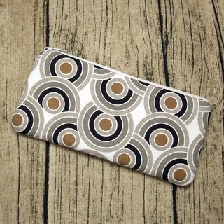 Large Zipper Pouch, Pencil Pouch, Gadget Bag, Cosmetic Bag (ZL-59)