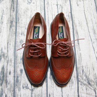 Back to Green:: 牛津雕花 vintage shoes