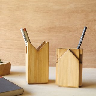 HO MOOD Deconstruction Series—Wooden Pencil Holder