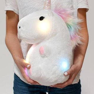 Smoko Glowing Unicorn Pillow