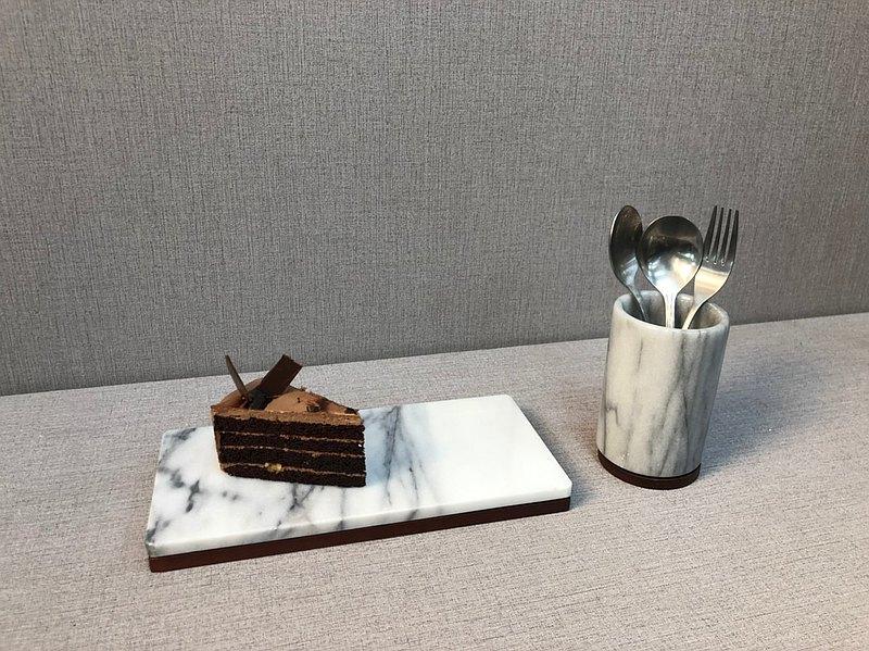 大理石長方形托盤 / 蛋糕盤 / 點心盤 / 收納盤/木托盤/飾品盤/