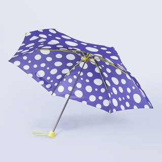 ALL PLASTIC FRAME Ultra Lightweight Umbrella - Polka Dot