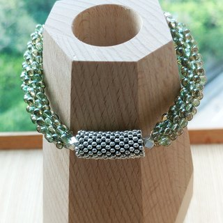 Fog Green Bubble Belle Bracelet