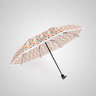 [German kobold] Disney official authorization - rain umbrella - Mickey Candy House - white