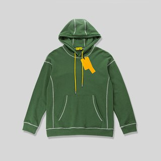 Contrast hooded T-shirt::Green:: Men and women can wear pre-order offer 10/21 deadline