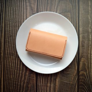Yichuang Room | Vegetable tanned leather hand-sewn large-capacity business card holder card holder card holder