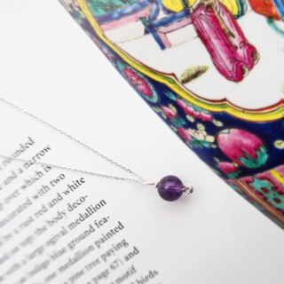 Kamcheng Sweet Series | Amethyst 925 Silver Necklace