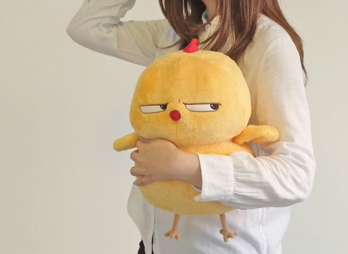 Warbie Plushy (Cute yellow bird plush toy)