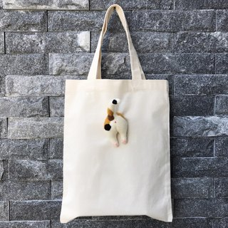 Feishiruochou__Micks cat__sheepskin canvas bag _ spring specials to increase canvas bag