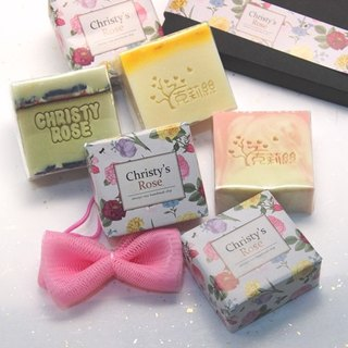 Handmade soap gift box <four pieces of equipment