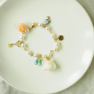 Sweet Dream ☆ mochi small polar bear delicious pearl bracelet