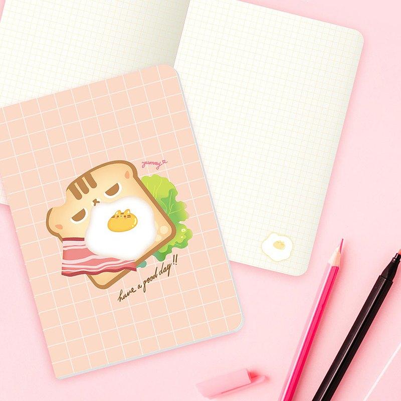 【Kim&Yim】暖暖手繪筆記本-無時效