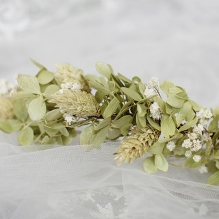 [Qing new row of dried flowers / flower hair accessories] - eternal flower / dried flower / bouquet jewelry / wedding bouquets Bouquet / Flower Ceremony