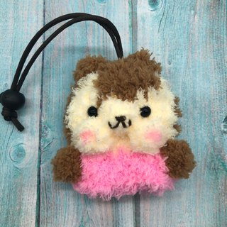 Marshmallow Animal Key Bag - Small Key Bag (Squirrel)