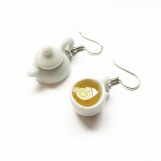 lemon tea earring