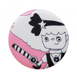 [Japan SDL] Japanese magical girl Minkymomo pattern fabric badge / brooch / accessories pin