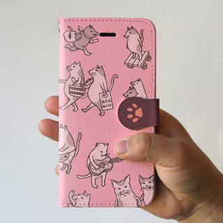iPhone cover · notebook type (full of cats)