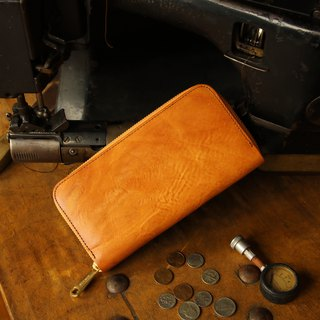 Japanese manufactured cowhide cartoon 棕色 made in JAPAN handmade leather wallet